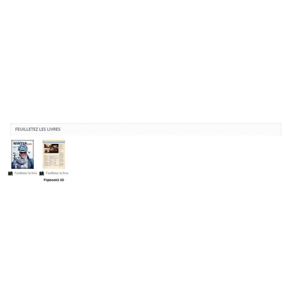 module - Visuels des produits - Flipbook 3D - 11