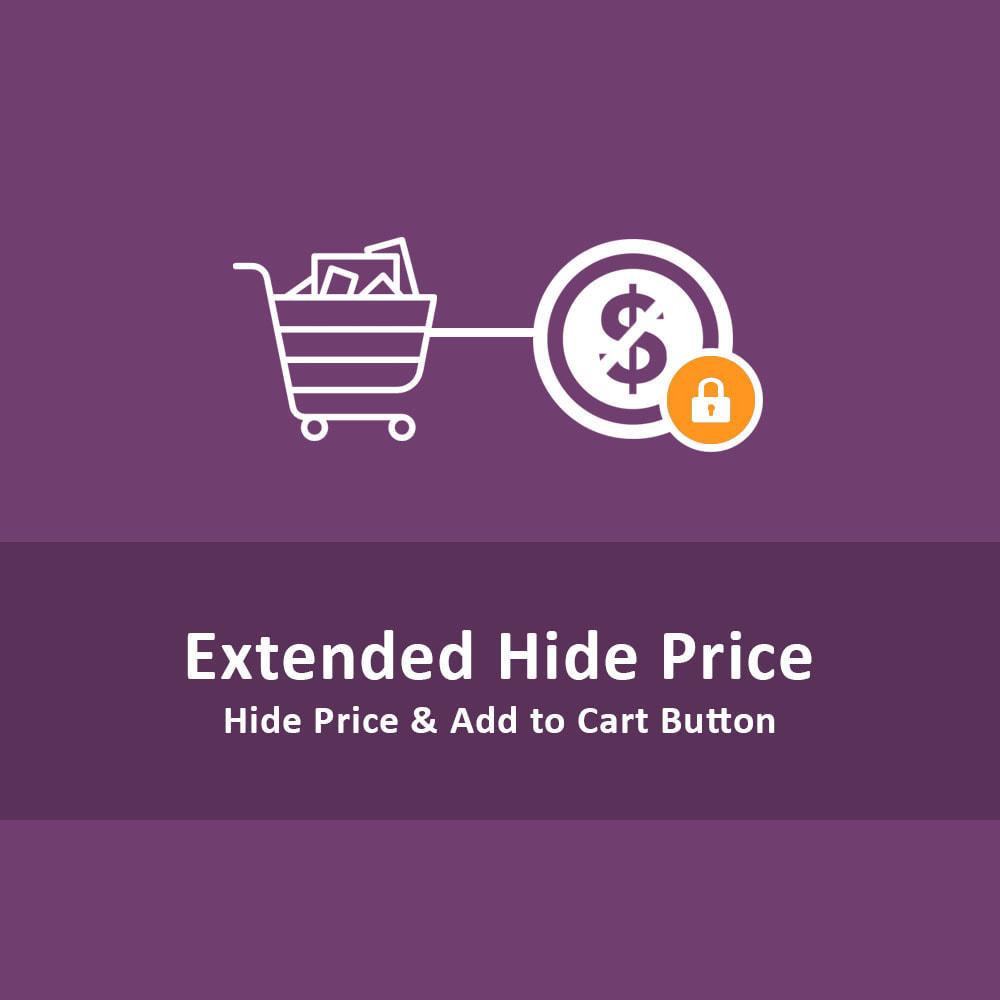 module - Iscrizione e Processo di ordinazione - Nascondi il Prezzo e Aggiungi al Carrello - 1