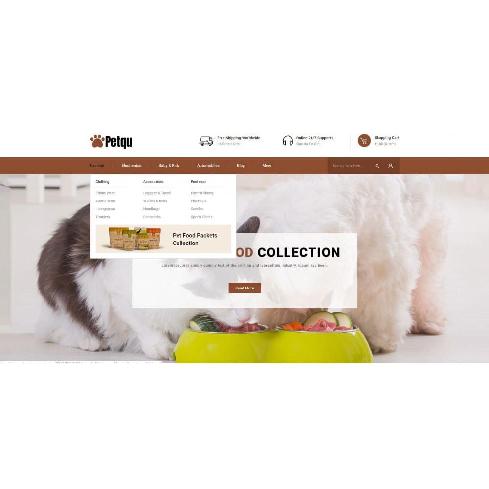 theme - Zwierzęta - Petqu - Pets Store - 6