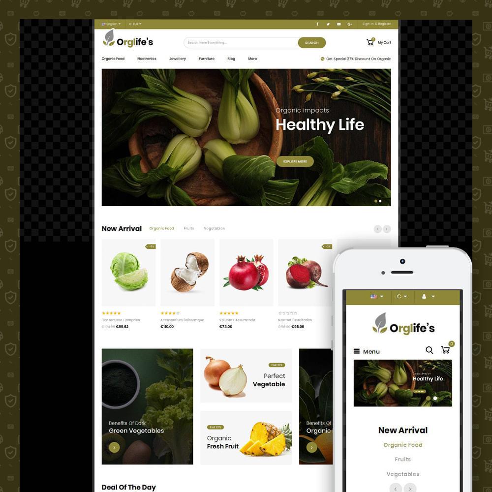 theme - Eten & Restaurant - Orglifes - Organic Store - 1