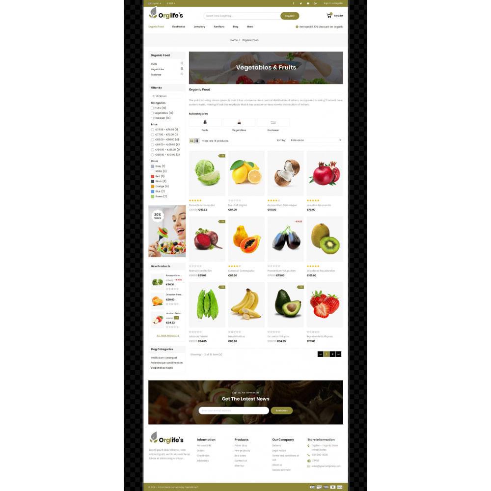 theme - Eten & Restaurant - Orglifes - Organic Store - 2