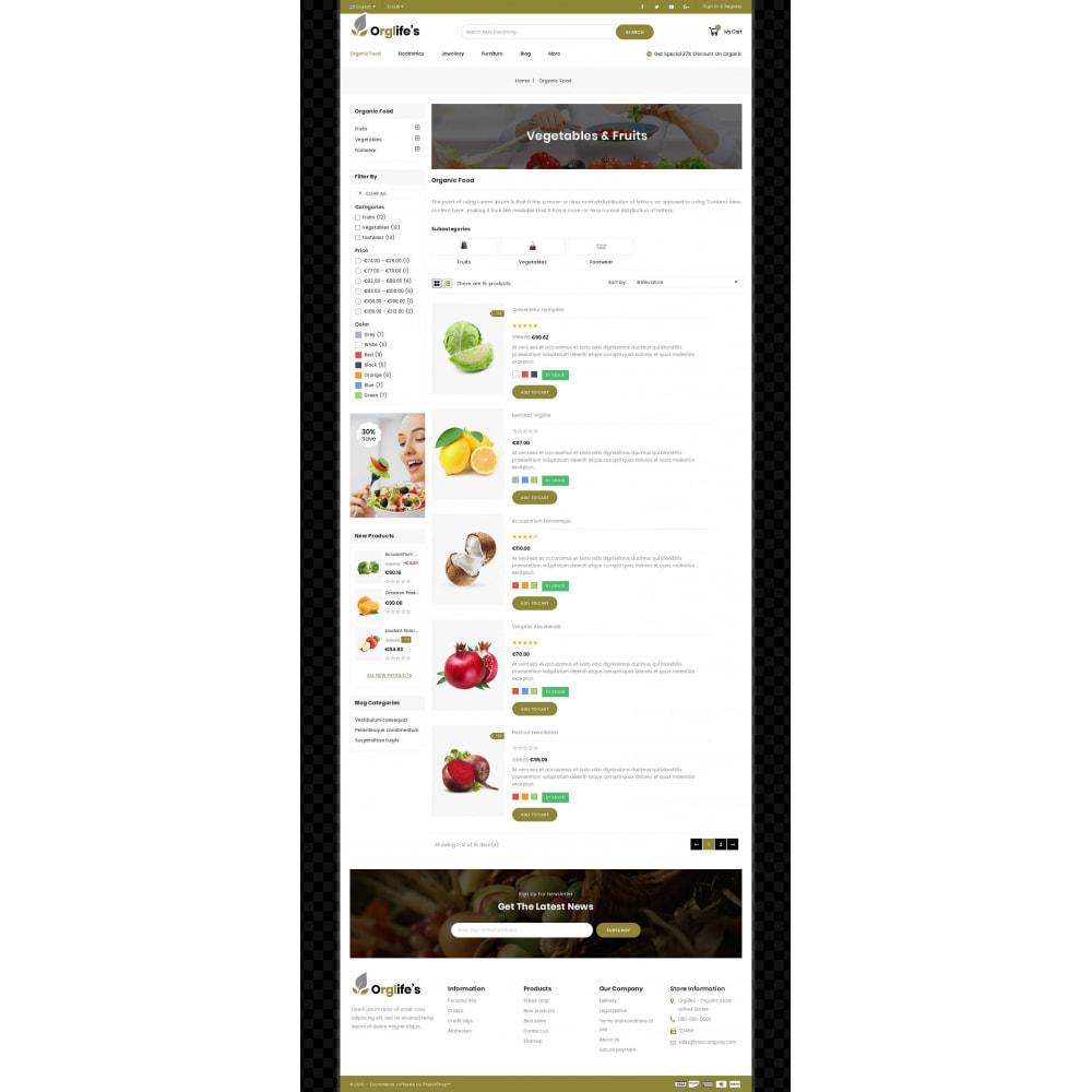 theme - Eten & Restaurant - Orglifes - Organic Store - 3