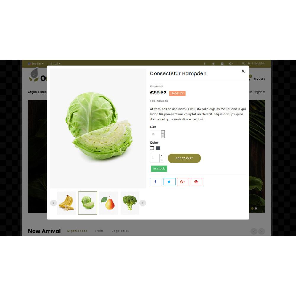 theme - Eten & Restaurant - Orglifes - Organic Store - 6