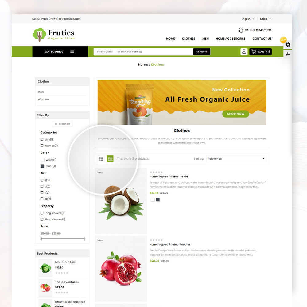 theme - Lebensmittel & Restaurants - Organic Store - 4