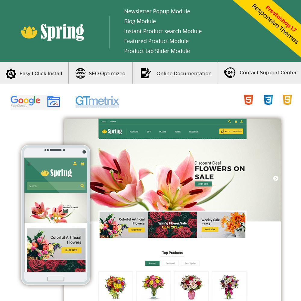 theme - Cadeaux, Fleurs et Fêtes - Fleur de printemps - Boutique de cadeaux Saint-Valentin - 2