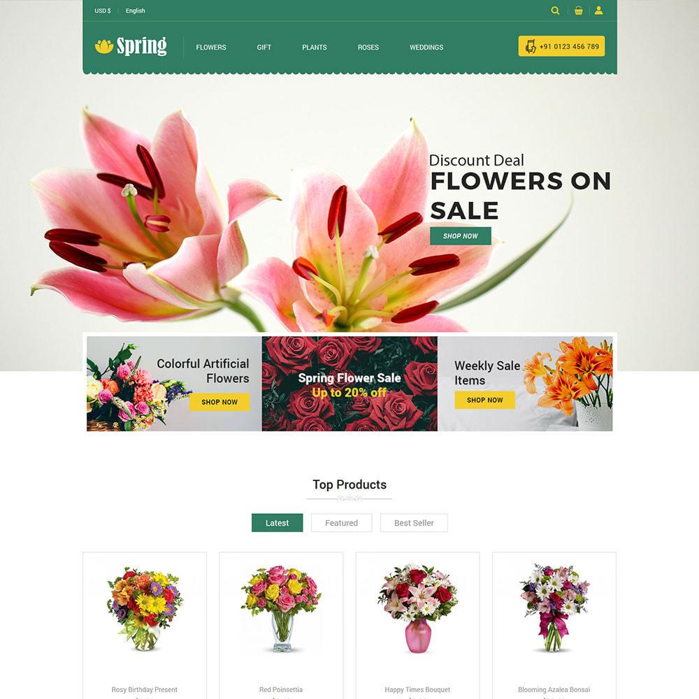 theme - Geschenke, Blumen & Feiern - Frühlingsblume - Valentine Gift Store - 3