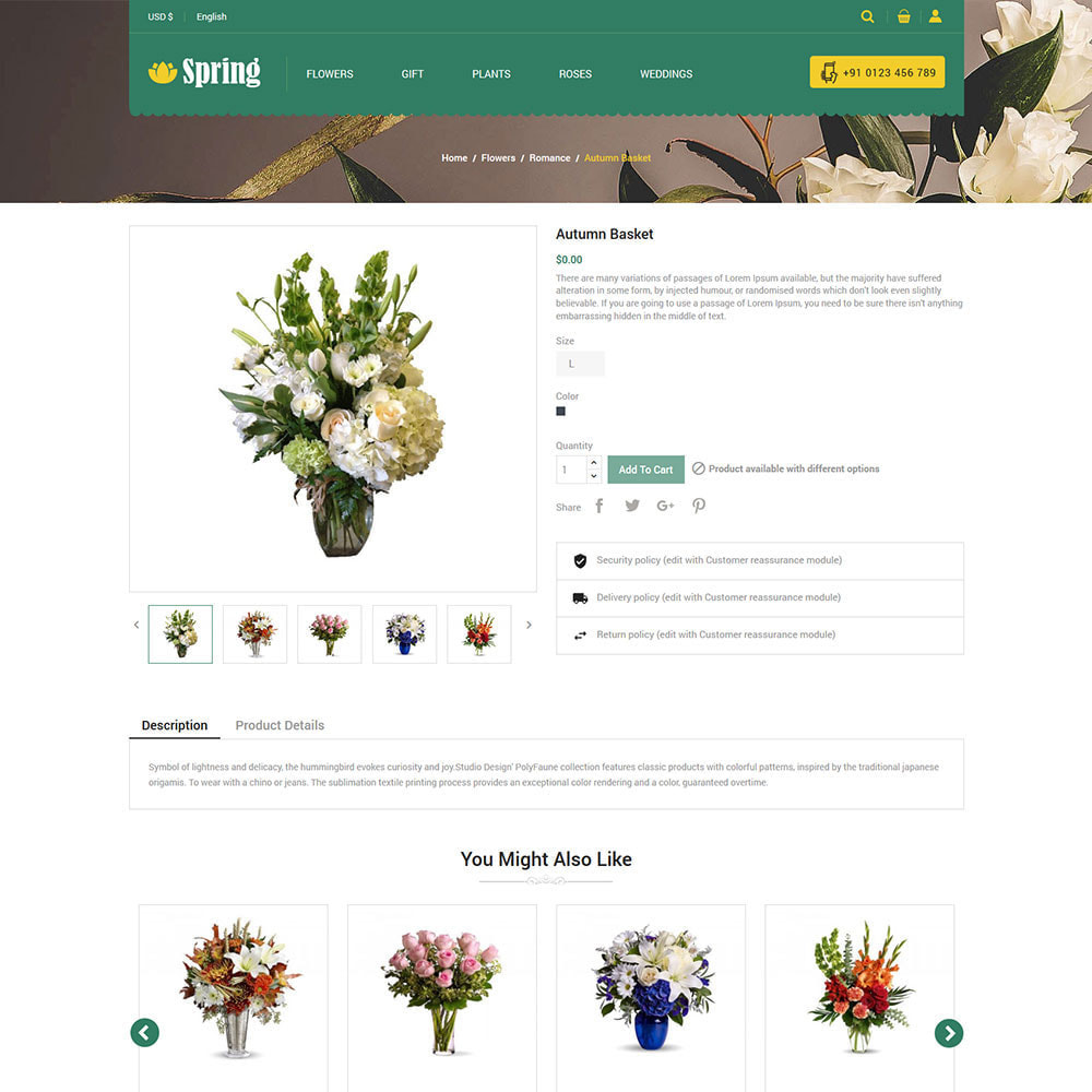 theme - Regali, Fiori & Feste - Fiore di primavera - Negozio di articoli da regalo di - 6
