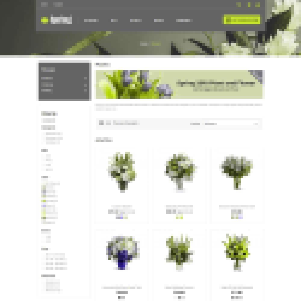 theme - Cadeaus, Bloemen & Gelegenheden - Spring Flower - Valentine Gift Store - 3