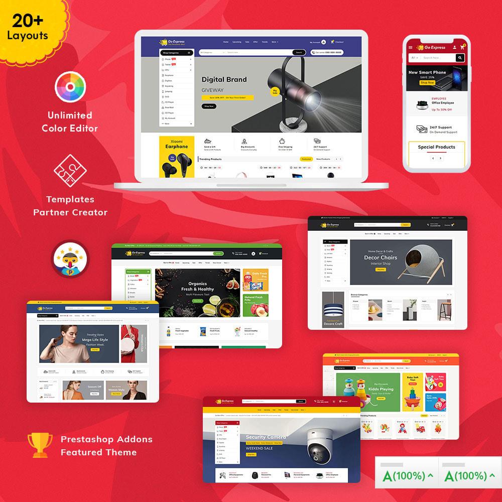 theme - Electronique & High Tech - Go Express - Multi Purpose Mega Store - 1