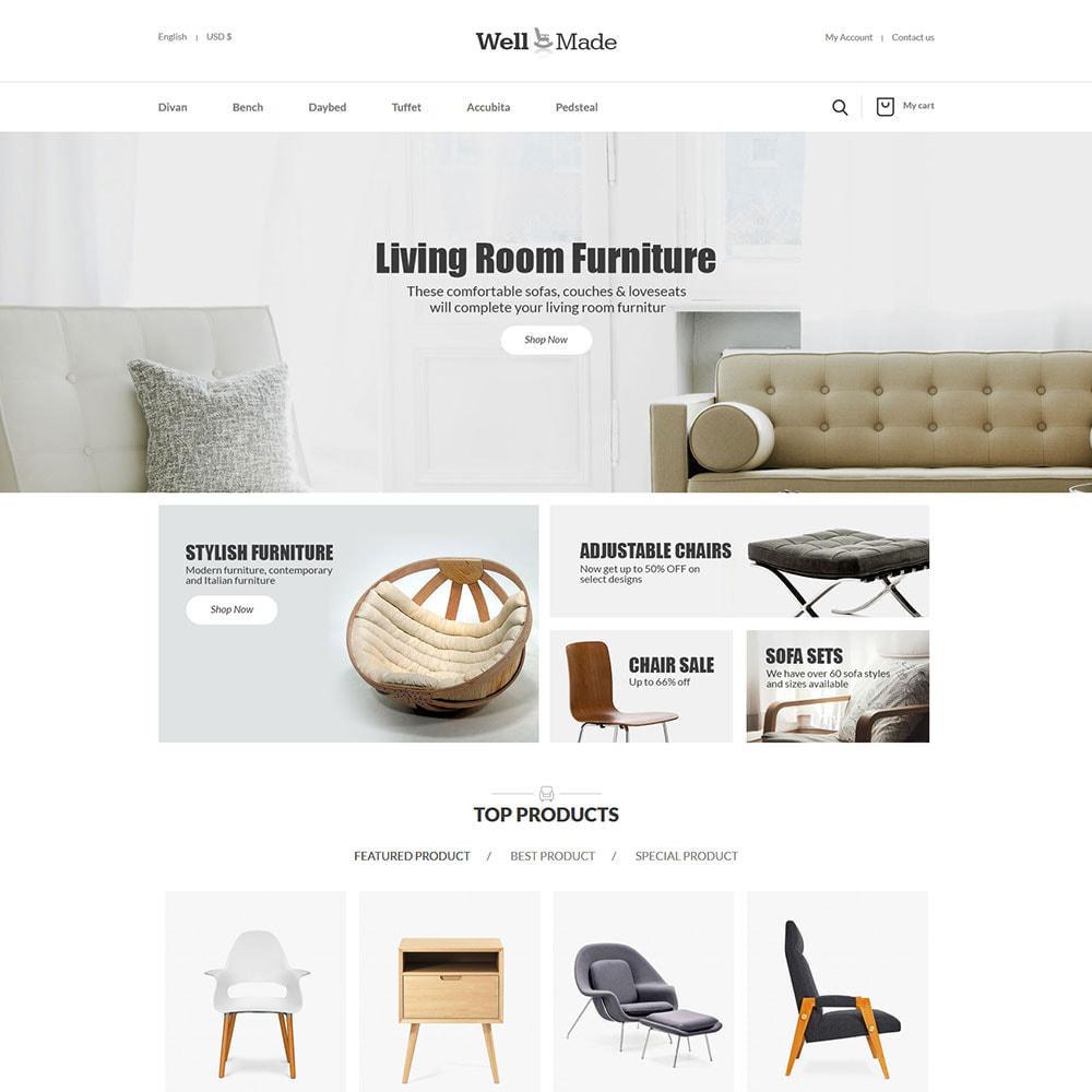theme - Maison & Jardin - Meubles d'intérieur - Magasin de décoration de chaises - 3