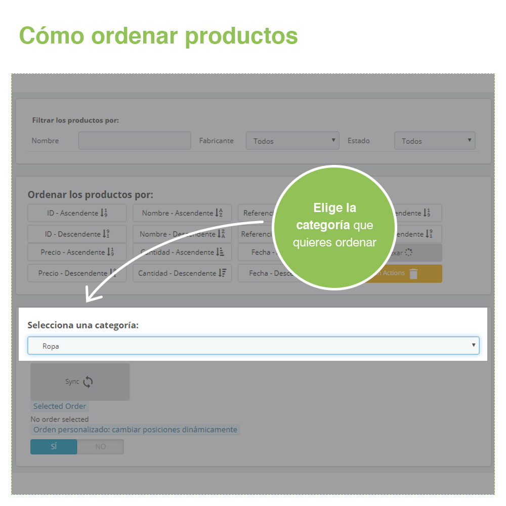 module - Edición Rápida y Masiva - Ordenar Productos por Categoría - Orden Visualización - 3