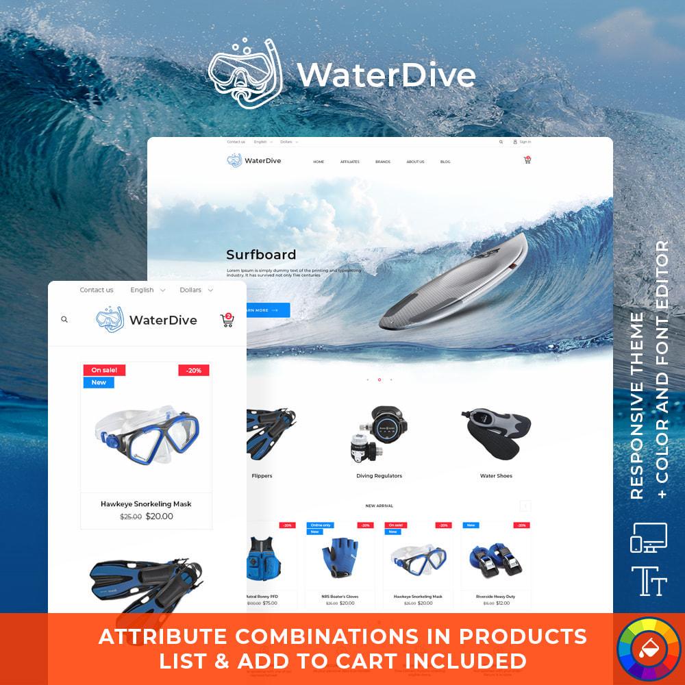 theme - Sport, Activiteiten & Reizen - WaterDive - 1