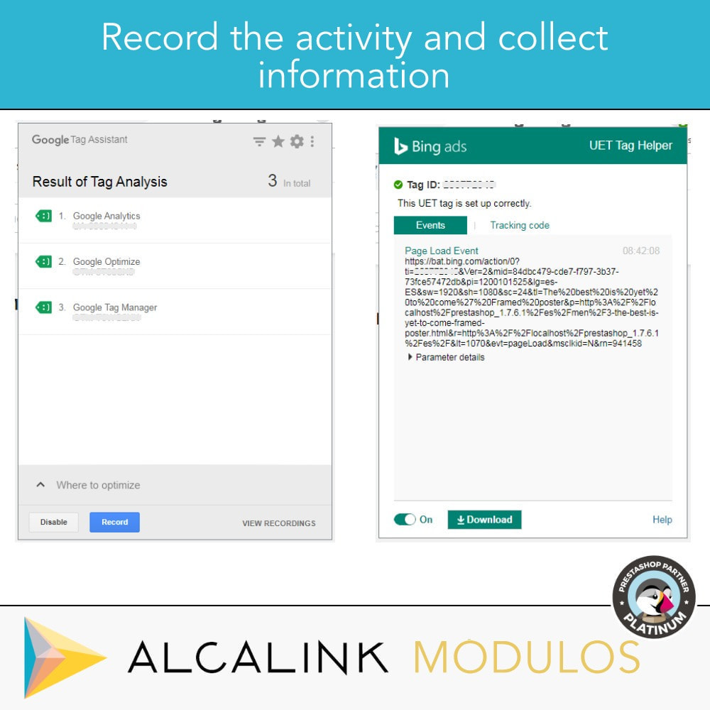 module - Статистика и анализ - Google Tag Manager + Add-ons. User activity. - 10