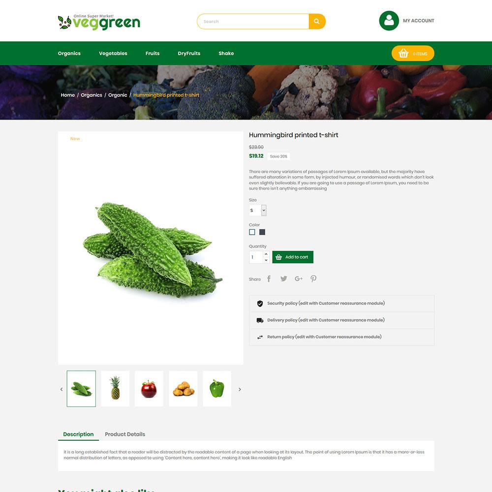 theme - Alimentation & Restauration - Veg Green - Magasin alimentaire Vegitable Fresh - 6