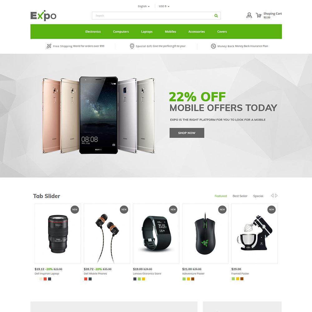 theme - Electrónica e High Tech - Móvil - Tienda electrónica de teléfonos inteligentes - 3