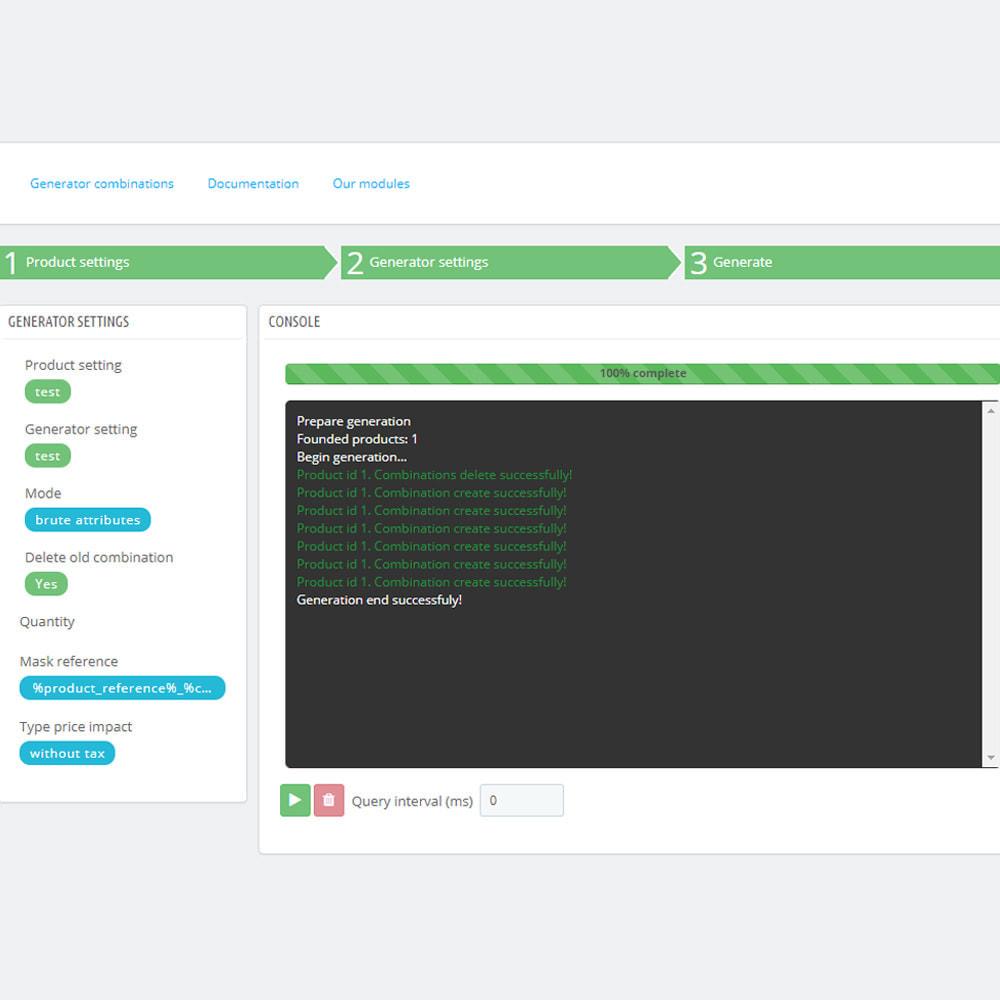 module - Szybkie & Masowe edytowanie - Masowe / Łączne tworzenie produktów kombinacji - 8