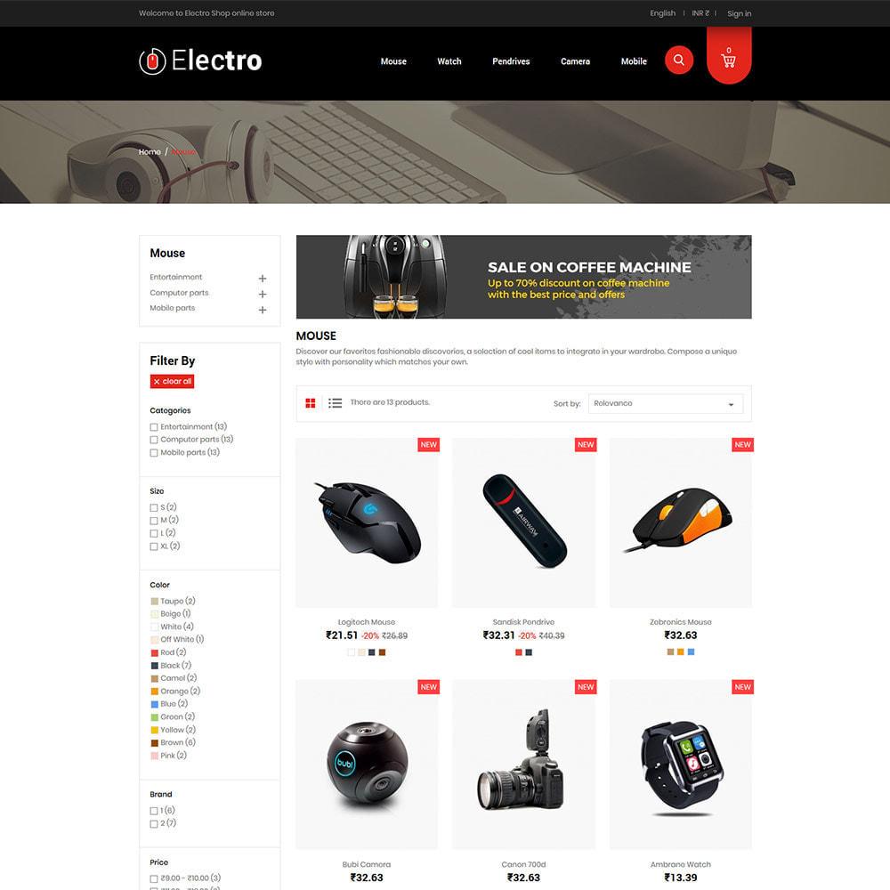 theme - Electrónica e High Tech - Electronics Mobile Digital - Tienda de computadoras - 4