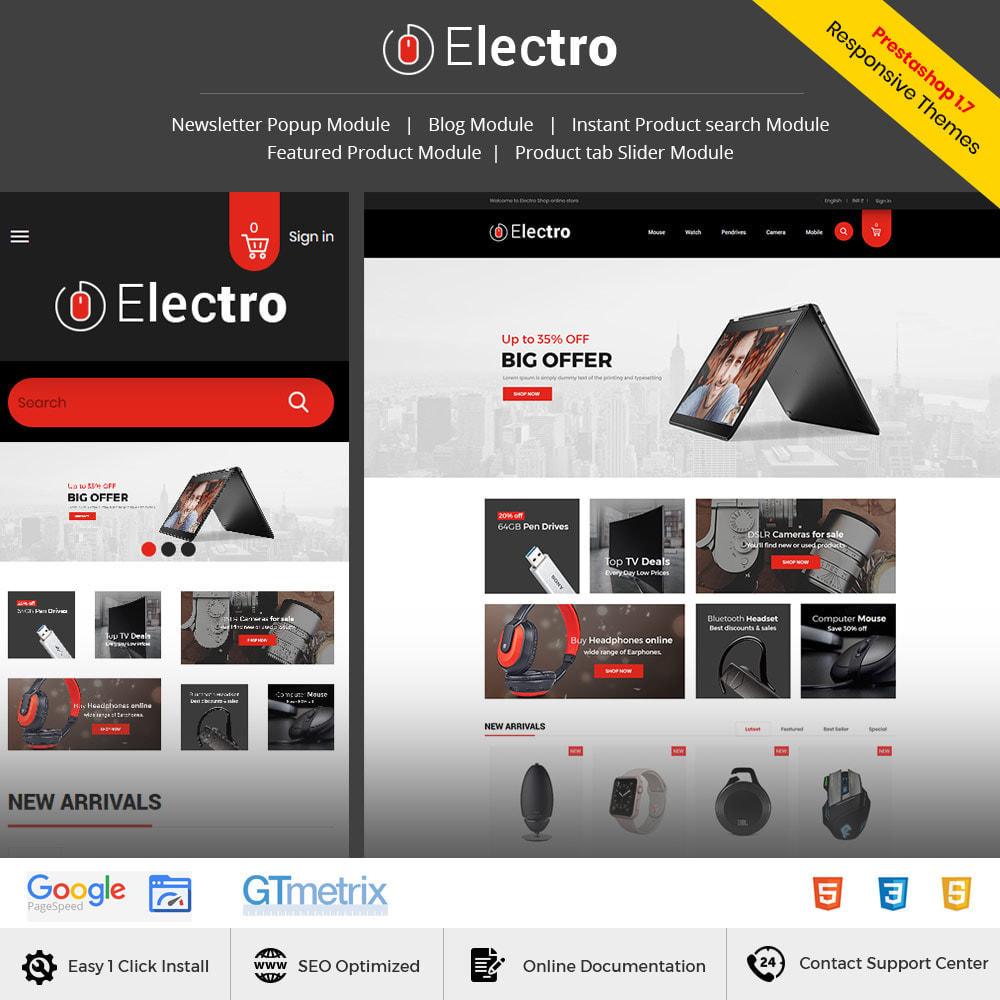 theme - Eletrônicos & High Tech - Electronics Mobile Digital - Loja de computadores - 2