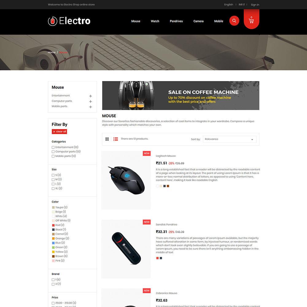 theme - Eletrônicos & High Tech - Electronics Mobile Digital - Loja de computadores - 5