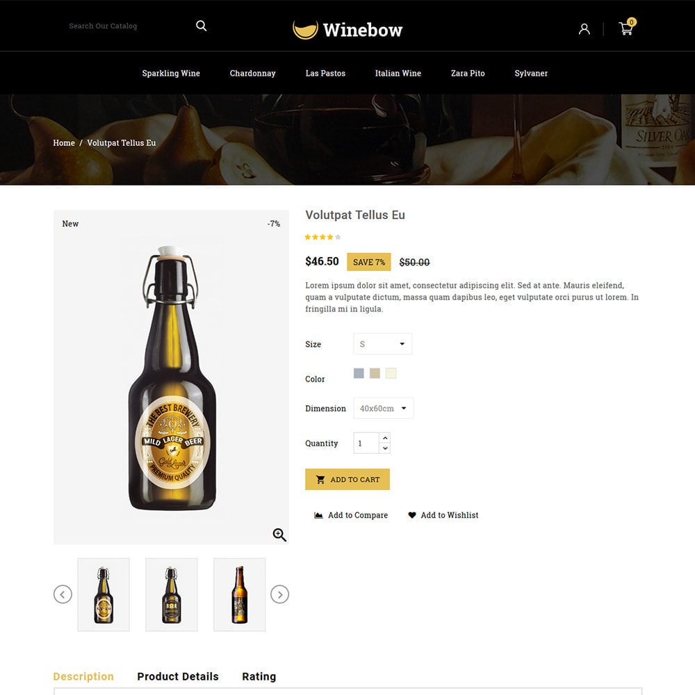 theme - Drank & Tabak - Winebow - Liquor Shop - 4