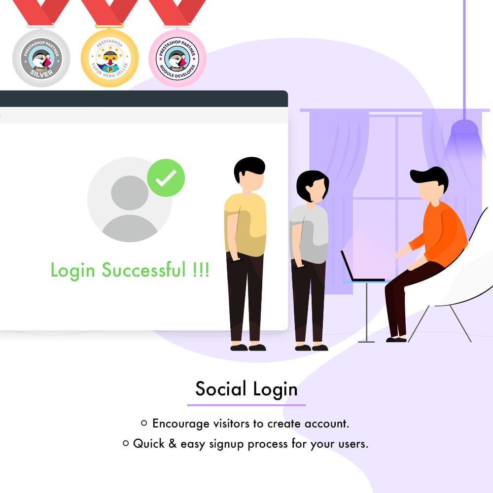 module - Логин / Подключение - Social Login - 1