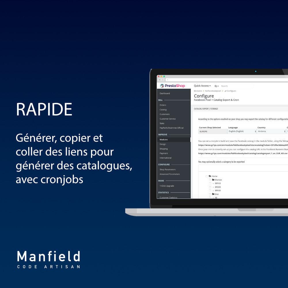 module - Produits sur Facebook & réseaux sociaux - Facebook Pixel + Track E-commerce + Catalogo e Cron - 4
