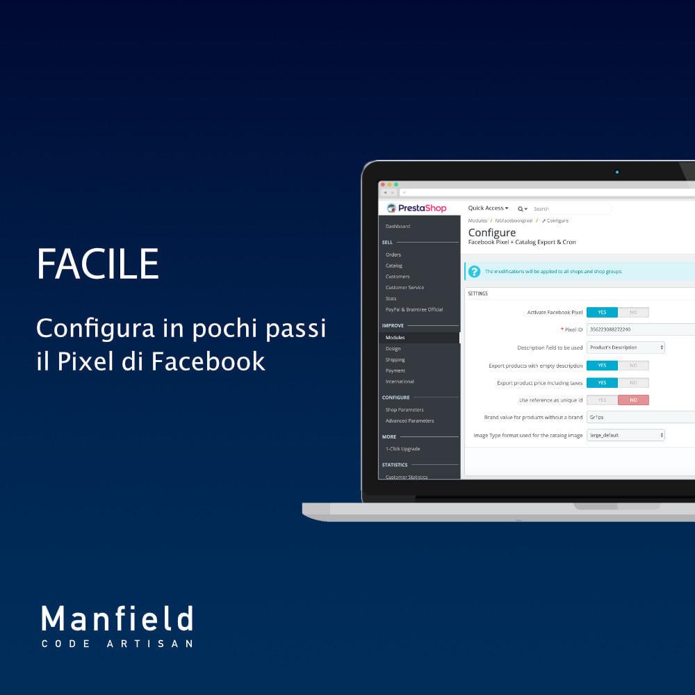 module - Prodotti sui Facebook & Social Network - Facebook Pixel + Track E-commerce + Catalogo e Cron - 2