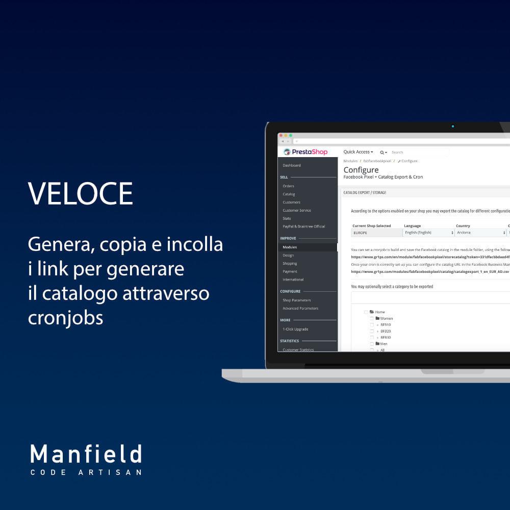 module - Prodotti sui Facebook & Social Network - Facebook Pixel + Track E-commerce + Catalogo e Cron - 3