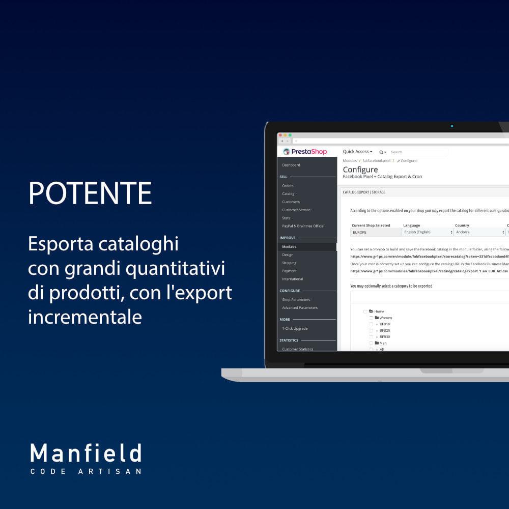 module - Prodotti sui Facebook & Social Network - Facebook Pixel + Track E-commerce + Catalogo e Cron - 6