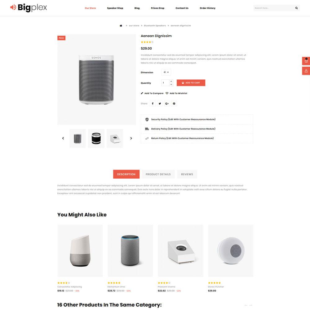 theme - Elettronica & High Tech - Bigplex negozio di elettronica - 7