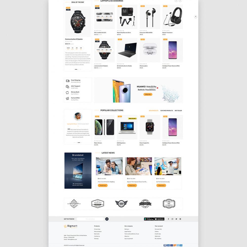 theme - Electronics & Computers - Bigmart - The Electronics, Smartphones Multistore - 4