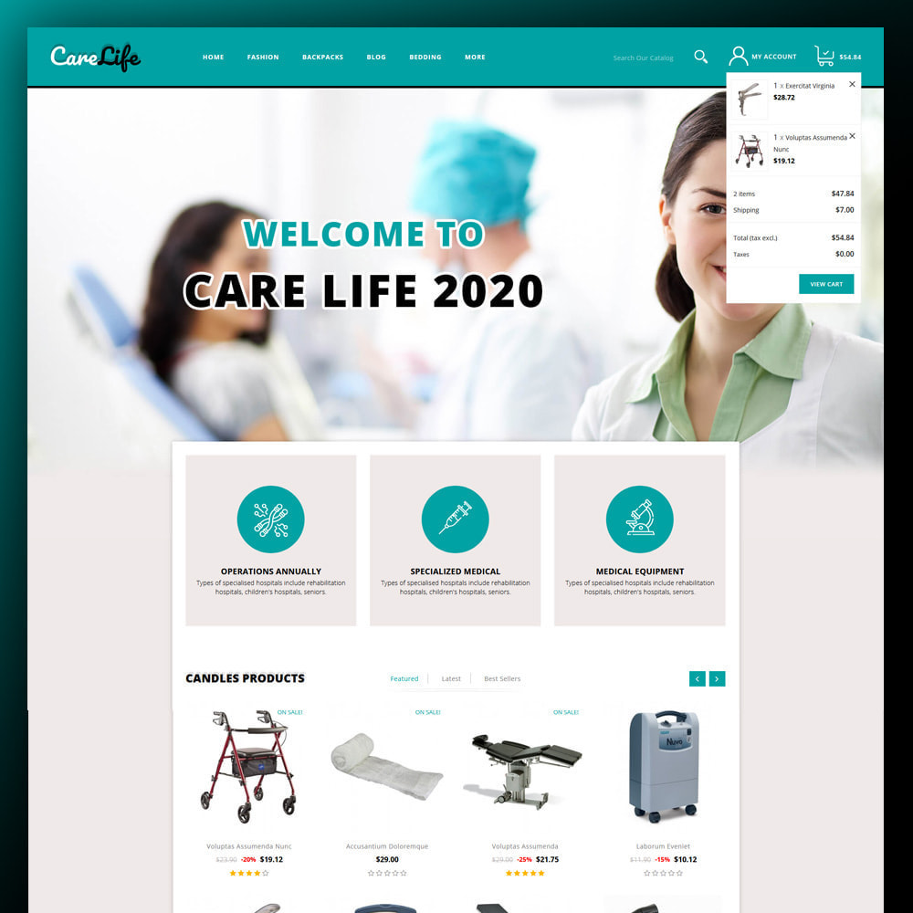 theme - Salud y Belleza - Carelife - Medical Store - 3