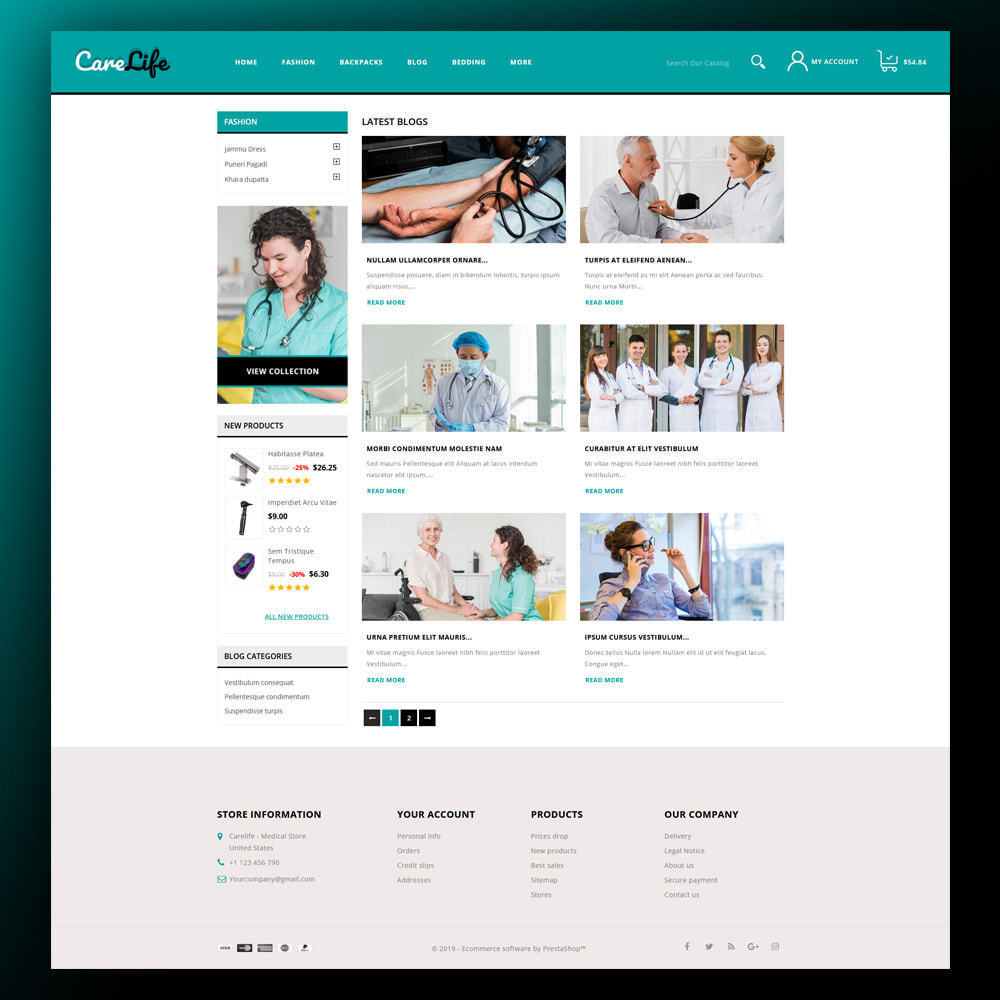 theme - Salud y Belleza - Carelife - Medical Store - 7