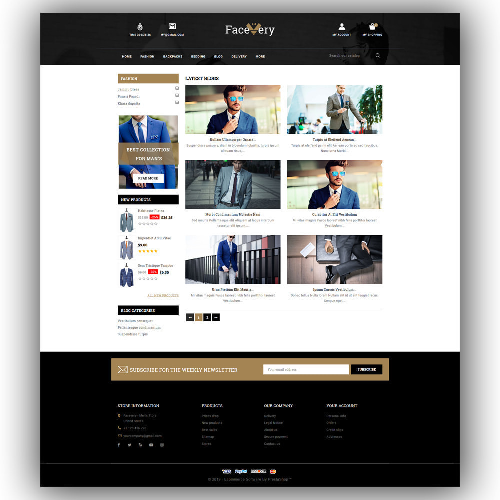 theme - Мода и обувь - Facevery - Men's Store - 7