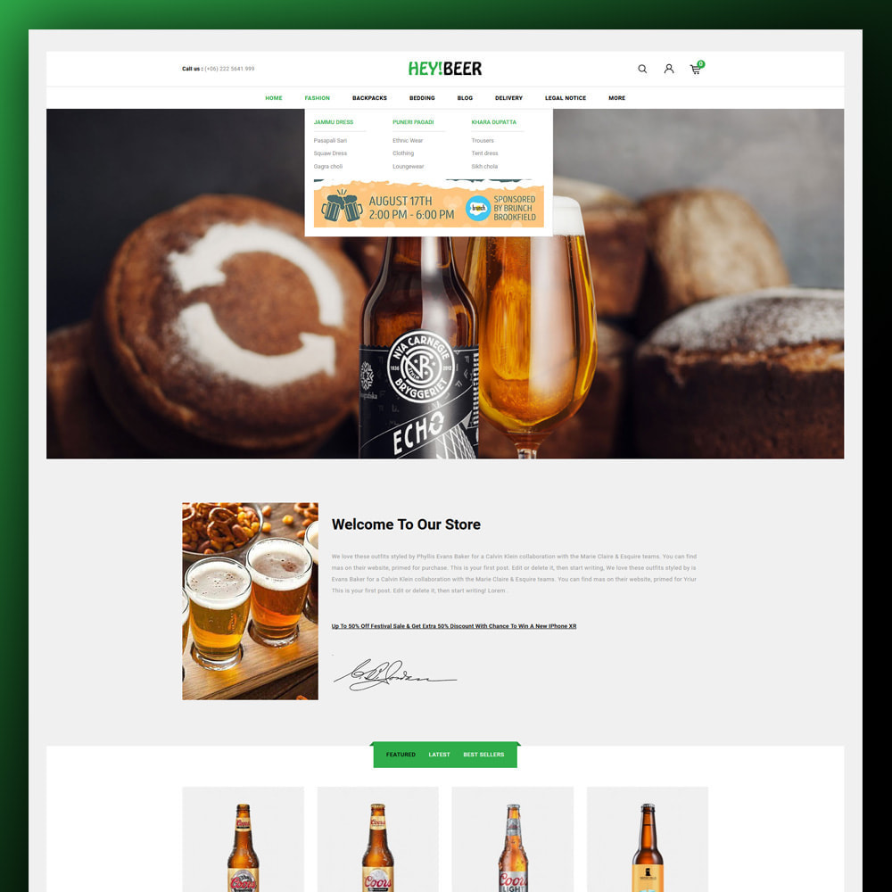 theme - Drink & Tobacco - Heybeer - Beer Store - 2