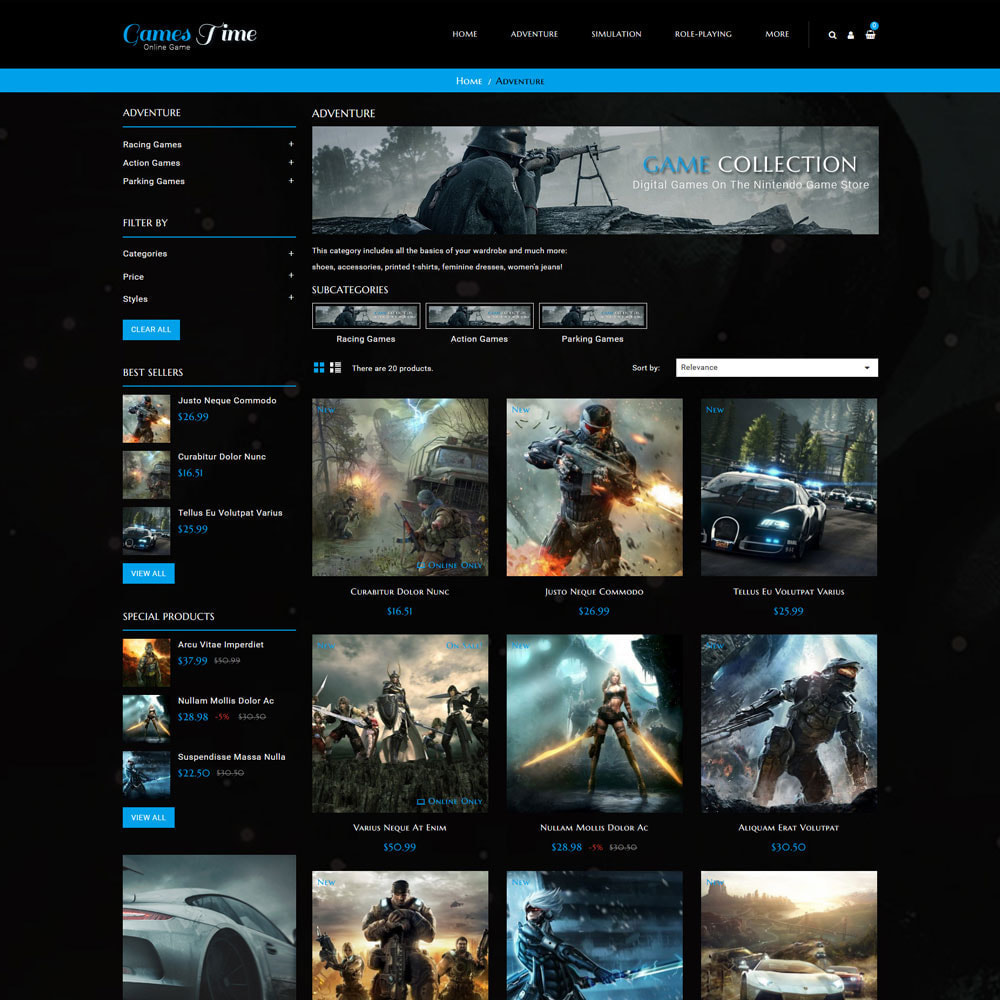 theme - Desporto, Actividades & Viagens - Gamestime Game Store - 4