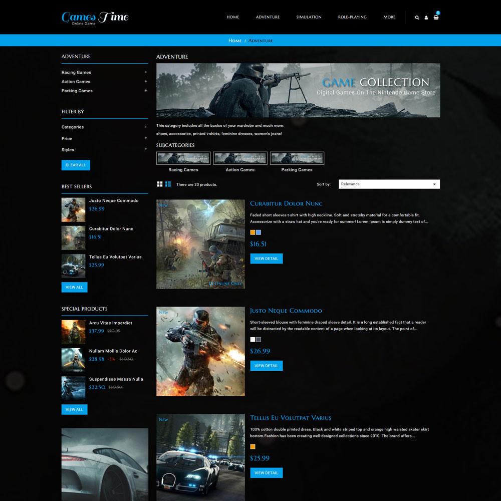theme - Desporto, Actividades & Viagens - Gamestime Game Store - 5