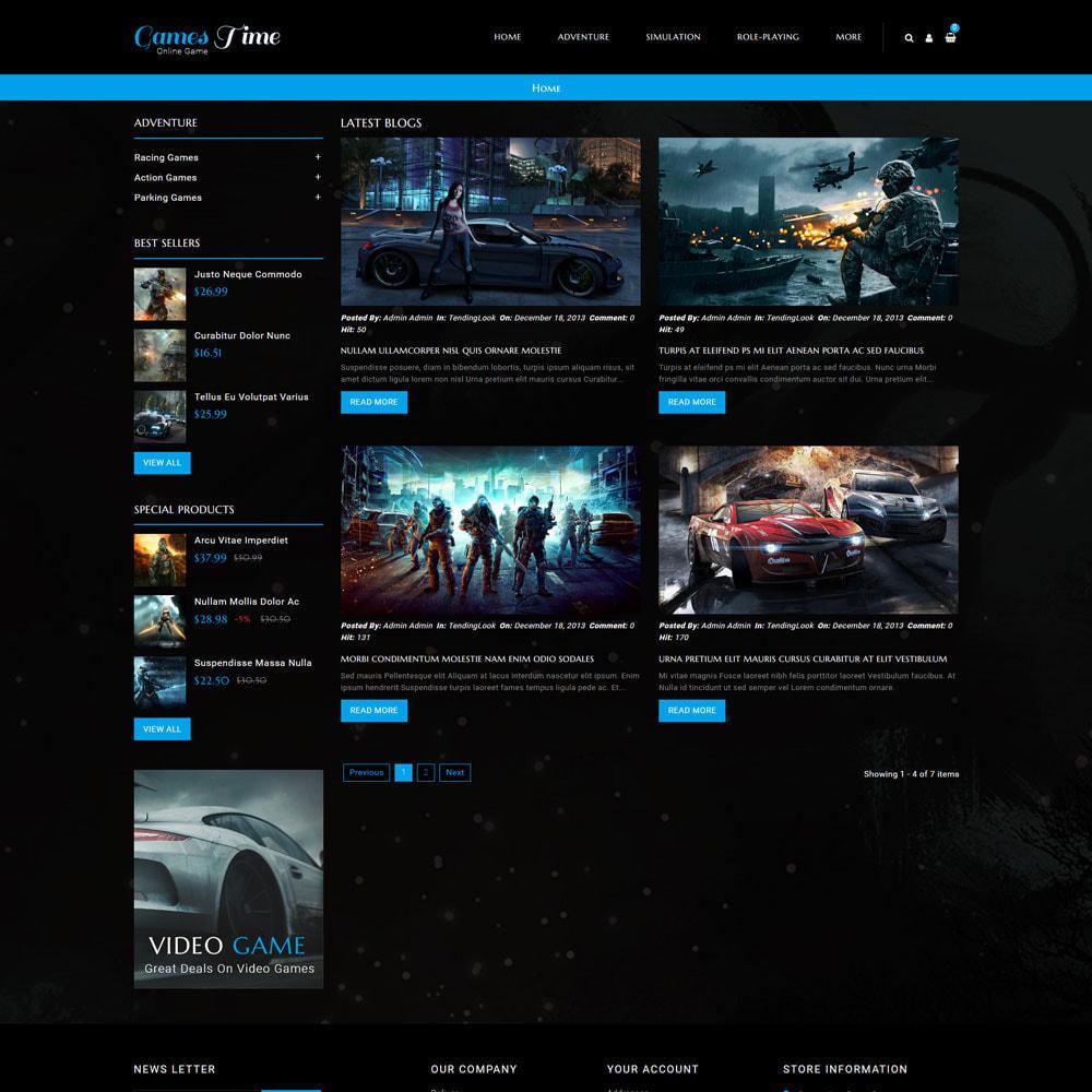 theme - Desporto, Actividades & Viagens - Gamestime Game Store - 7