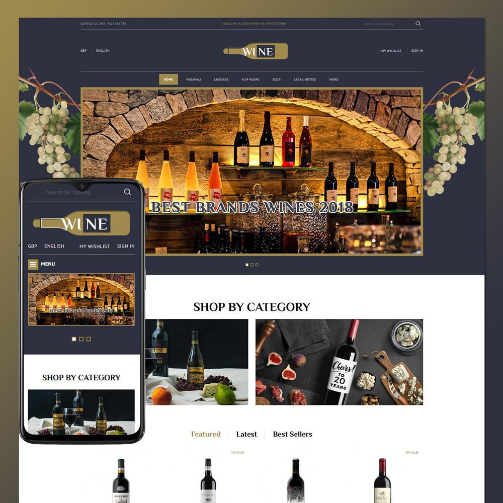 theme - Drink & Tobacco - Online Wine Store - 1