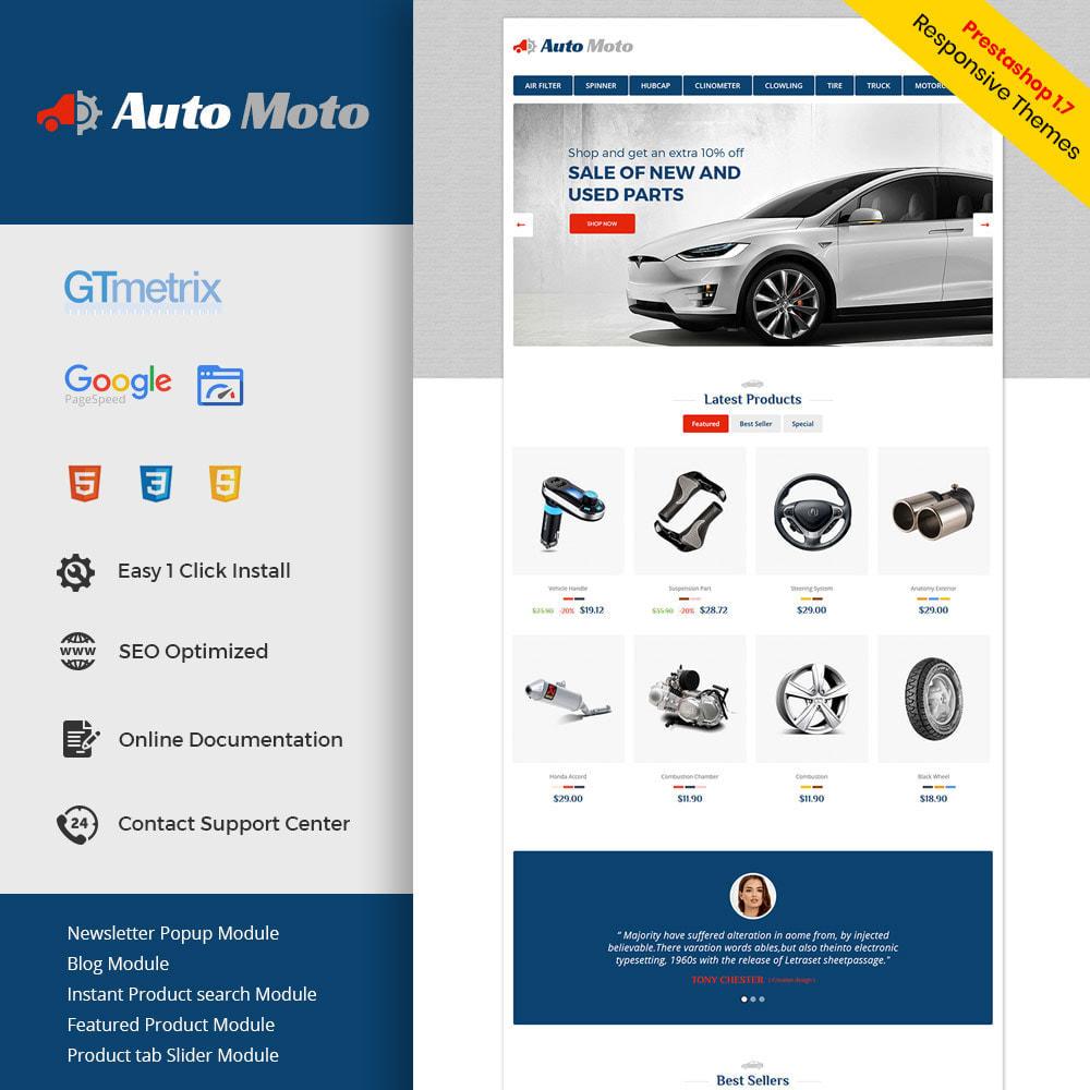 theme - Automotive & Cars - Auto Tool - Car Spare Parts Store - 1