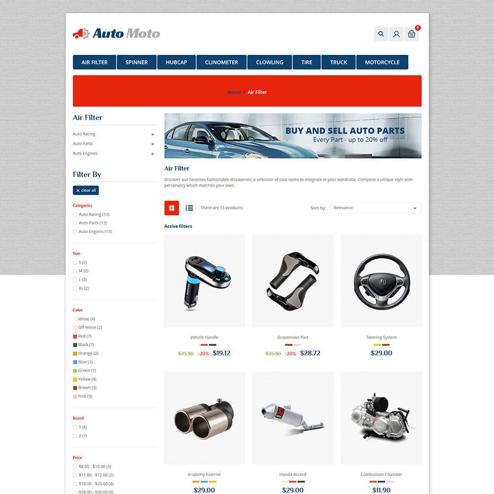 theme - Automotive & Cars - Auto Tool - Car Spare Parts Store - 3