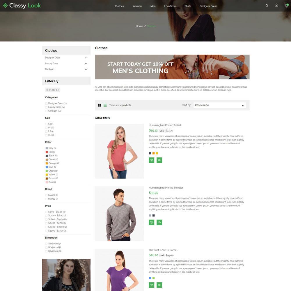 theme - Fashion & Shoes - Classy Loook - Fashion Clothes - 4