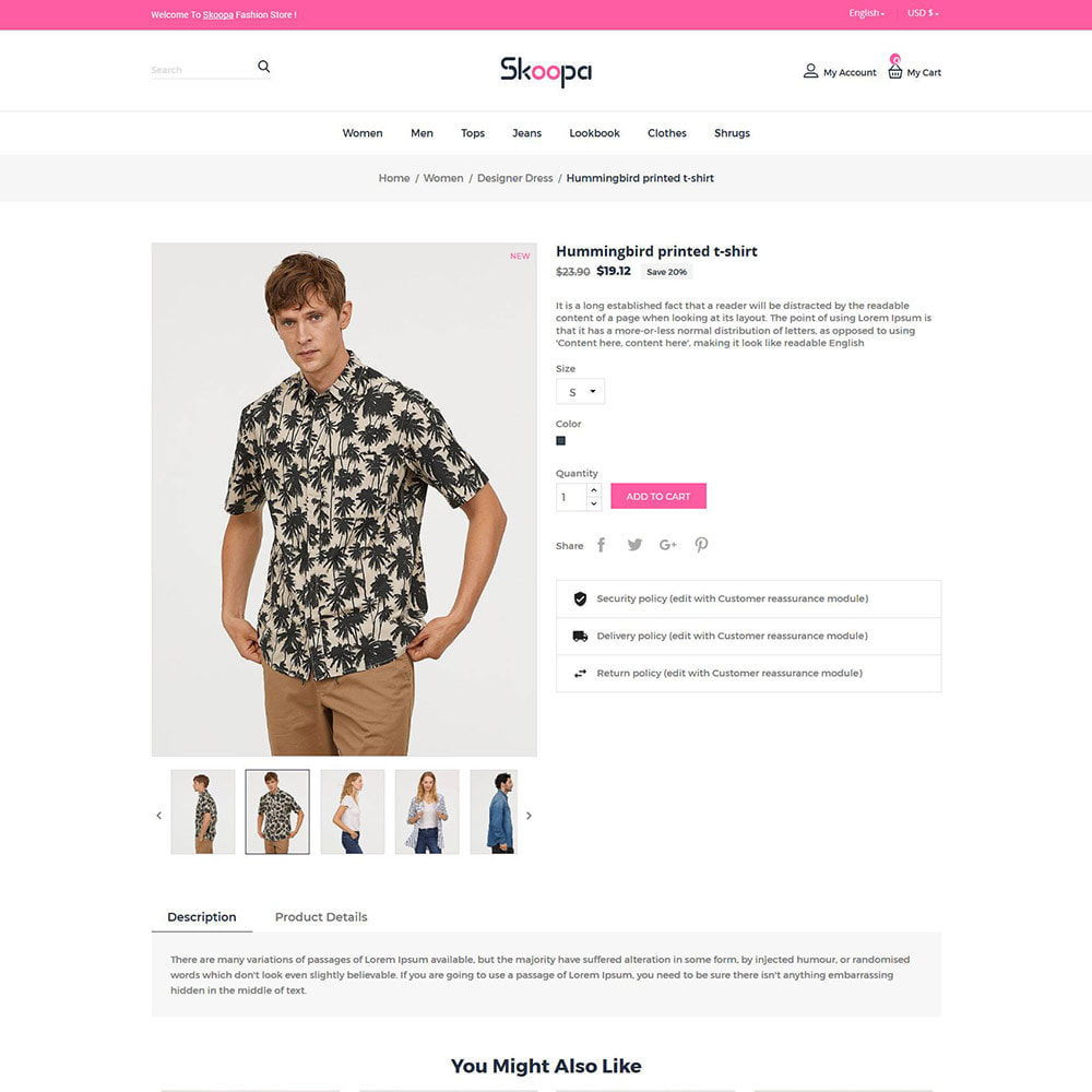 theme - Fashion & Shoes - Skoopa  Fashion - Designer  Accessories Store - 4