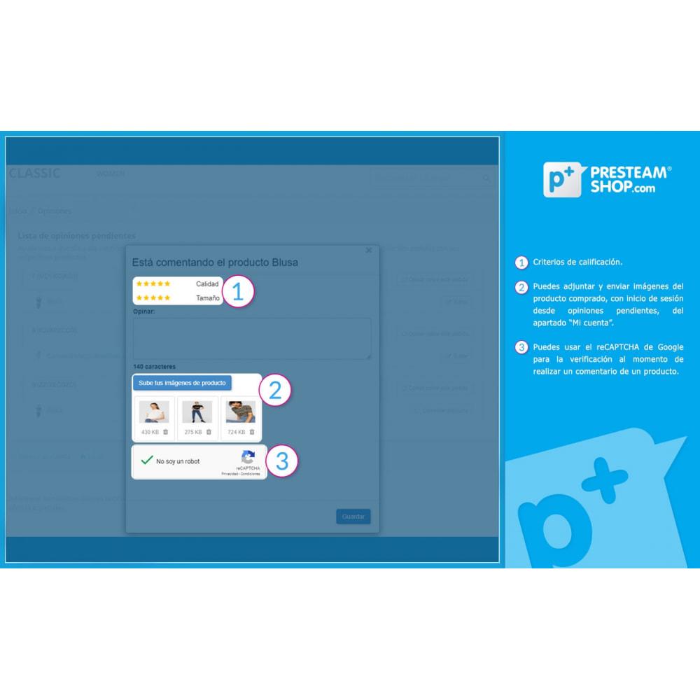 module - Comentarios de clientes - iFeedback - Valoraciónes avanzadas - 4