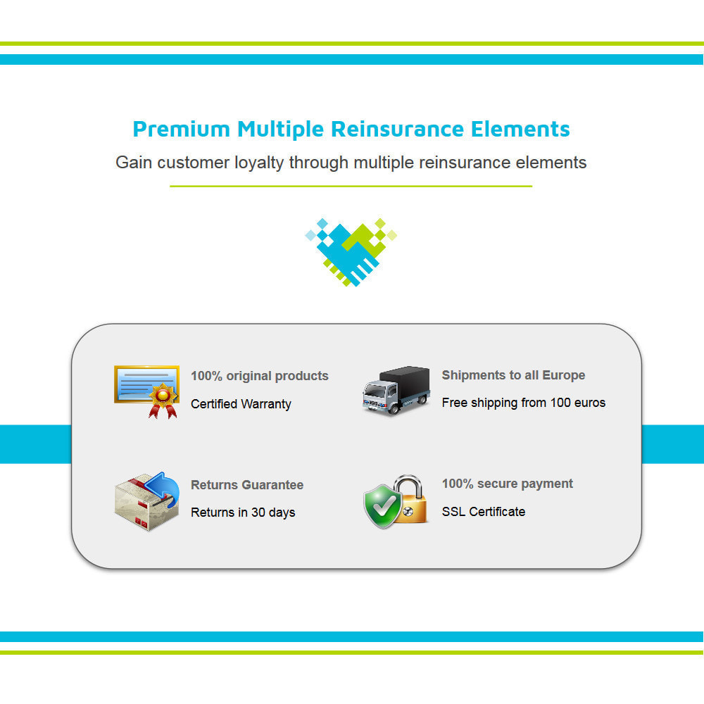 module - Personalizacja strony - Multiple Animated Reinsurance Elements Lottie JSON - 2