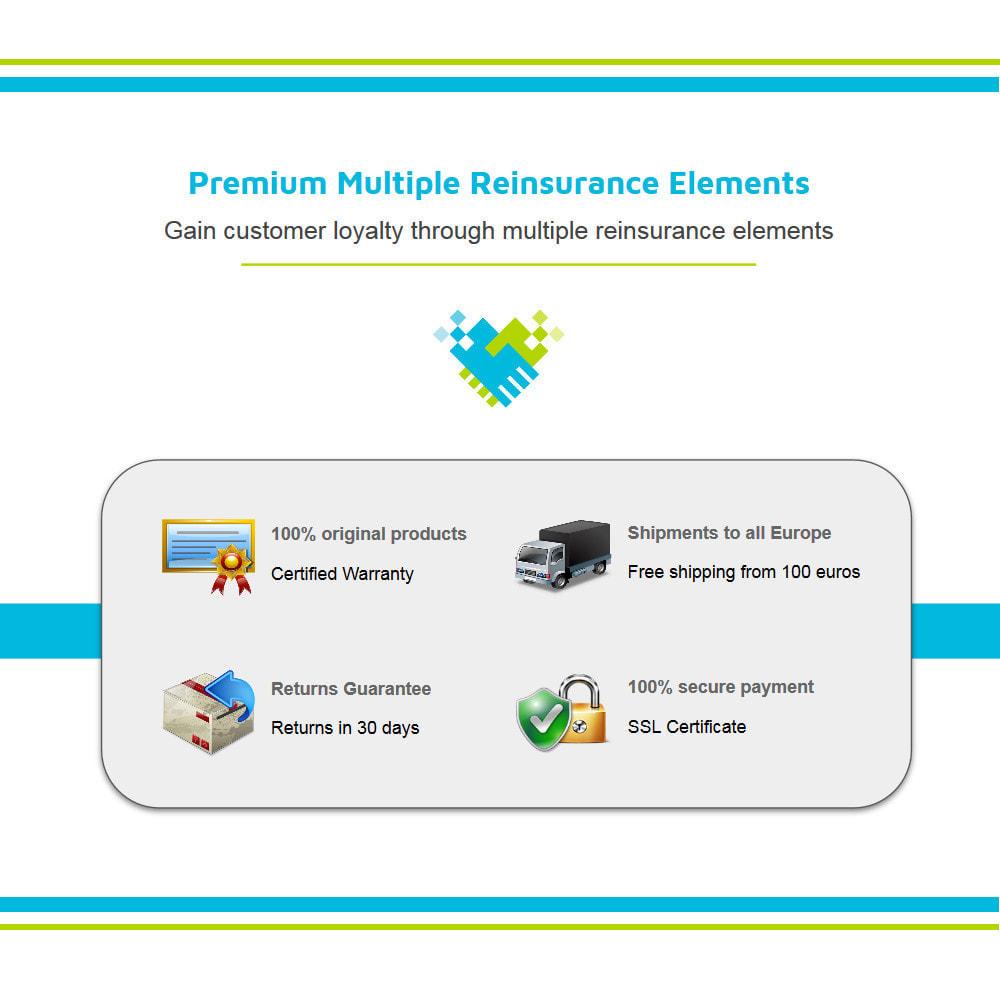 module - Personalização de página - Premium Multiple Reinsurance Elements - 2