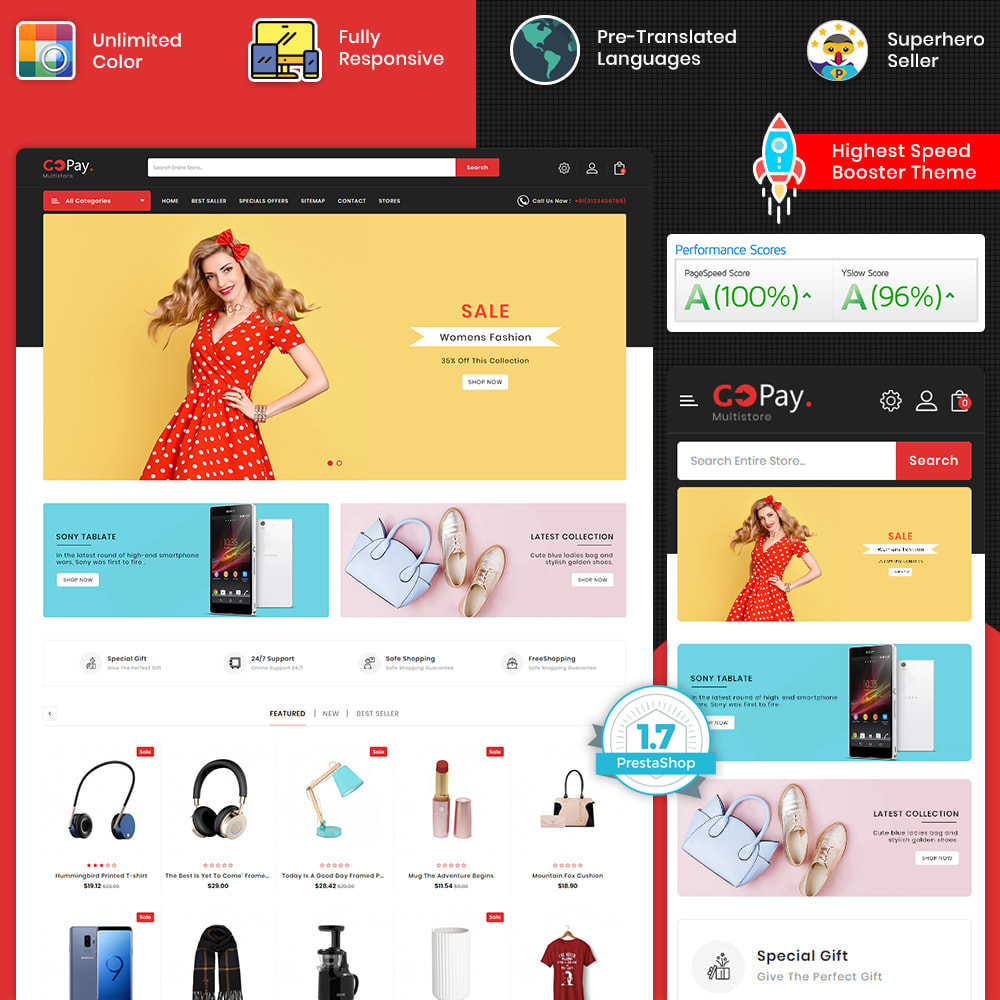 theme - Electronics & Computers - GoPay - The Best Multi Purpose Store - 1