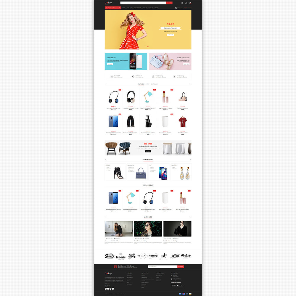 theme - Electronics & Computers - GoPay - The Best Multi Purpose Store - 5