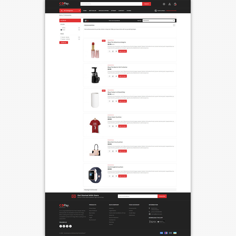 theme - Electronics & Computers - GoPay - The Best Multi Purpose Store - 7