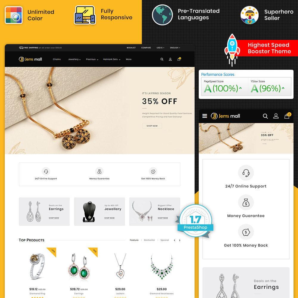 theme - Jewelry & Accessories - Jemsmall - The Best Jewelry Store - 1